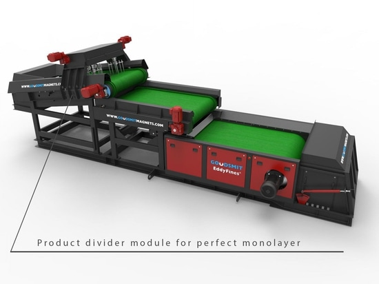 New Conveyor Feed Boosts Yield from Eddy Current Separators at Waste & Recycling Plants