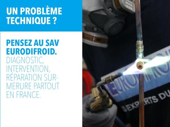 Our SAV: Quality Eurodifroid all over France