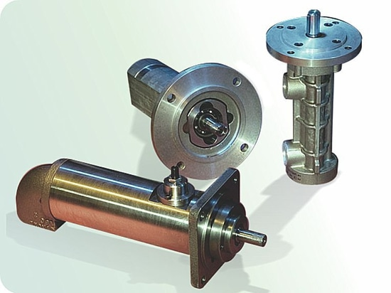 Positive displacement screw pumps