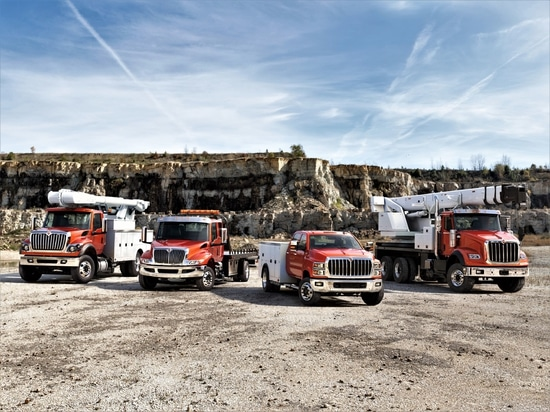 International unveils the CV Series, its version of the medium-duty trucks developed with Chevy