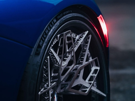 HRE WHEELS PARTNERS WITH GE ADDITIVE TO CREATE FIRST 3D-PRINTED TITANIUM WHEEL