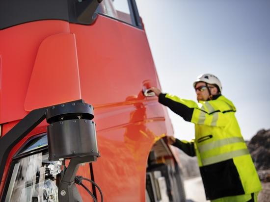 Volvo Trucks provides autonomous transport solution to Brønnøy Kalk AS