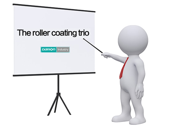 The roller coating trio