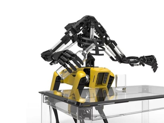 Youbionic adds 3D printed bionic arms to Boston Dynamics robot dog SpotMini