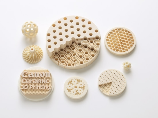 Canon developed alumina-based ceramic material for high-res 3D printing