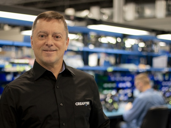 Daniel Rivard, new Vice President of Operations at Creaform