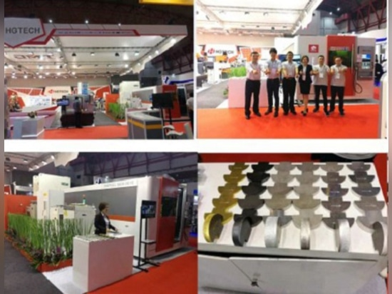 HGTECH Live Indonicea Exhibition