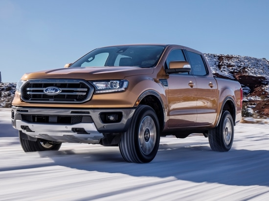 Ford's new Ranger has best-in-class gas engine fuel economy