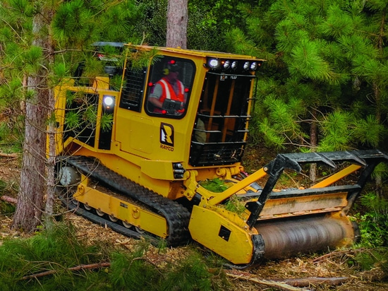 Morbark's Rayco C120R forestry mulcher designed for sensitive ground conditions