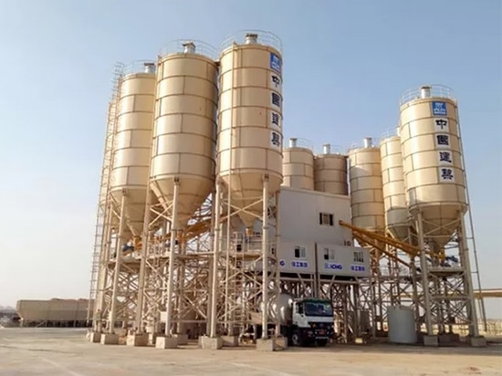 XCMG Concrete Machinery Helps Build CBD Project in Egypt