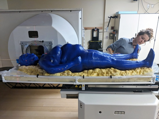 LSU student 3D prints first full 'human' for radiation therapy research