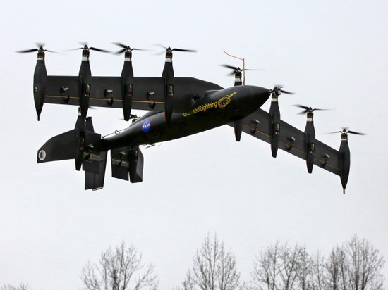 GL-10 REDUCES NOISE AND INCREASES EFFICIENCY IN DRONES