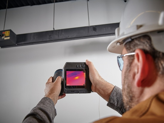 Fault finding with a FLIR T500-series camera