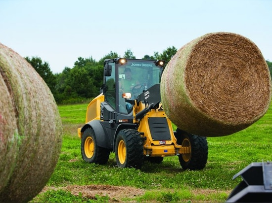 Deere improves speed, cab in new 244L, 324L compact wheel loaders