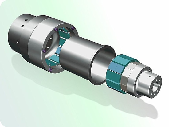Magnetic Couplings for mechanical power transmission