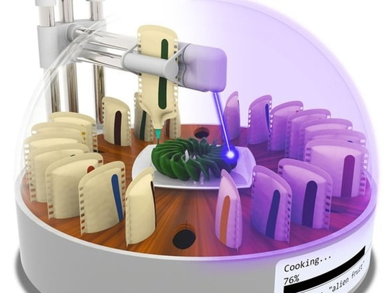 3D printing food: lab creates 3D food printer that cooks its prints with a laser