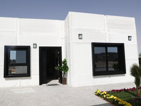 Saudi Arabia 3D prints a house in two days