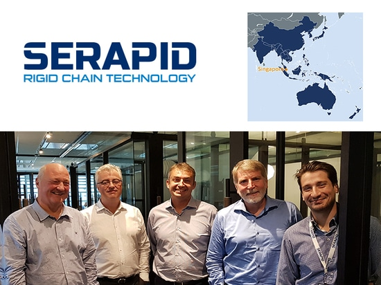 SERAPID Group is pleased to announce the official opening of its Asian subsidiary: SERAPID Singapore PTE LTD