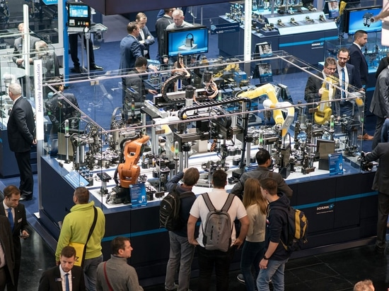 The SPS IPC Drives exhibition was held from 27 to 29 November