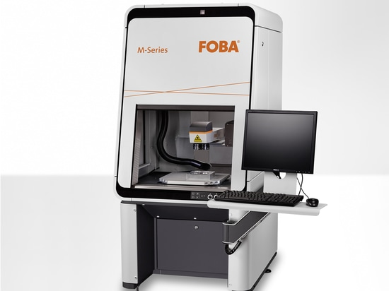FOBA M2000-P with three programmable axes and integrated software with FOBA Mosaic™ (Image rights: FOBA)