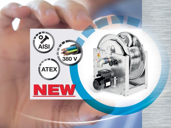 THE BEST UPCOMING NEWS OF 2019 : THE NEW INDUSTRIAL HOSE REELS