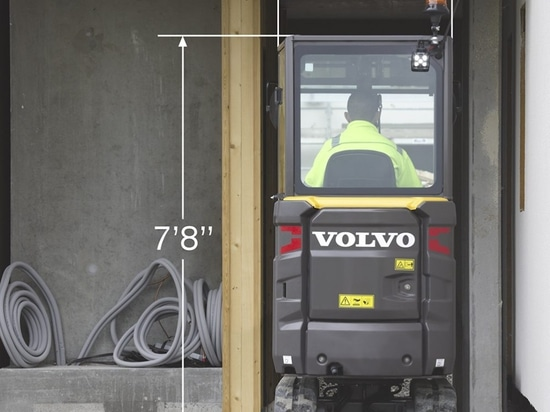 Volvo Updates EC20E, Adds ECR18E to Lineup