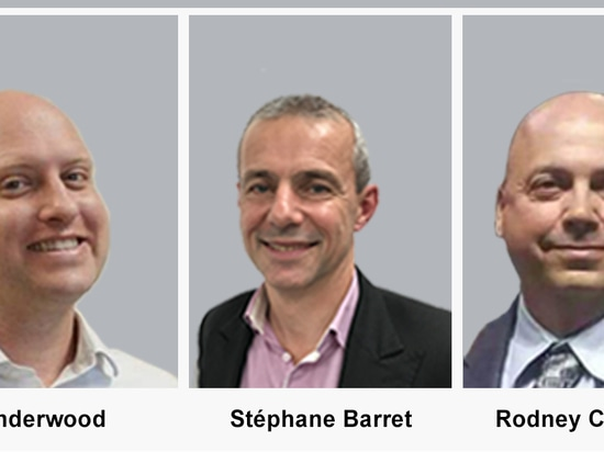 THREE NEW RSMS APPOINTED TO SERVOMEX'S SALES TEAMS