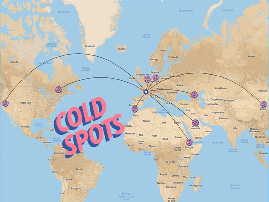 INTERNATIONAL COLD SPOTS