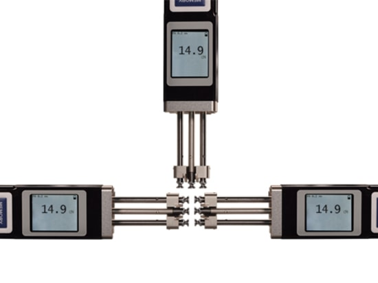Tension Meter ETX with rotated displays