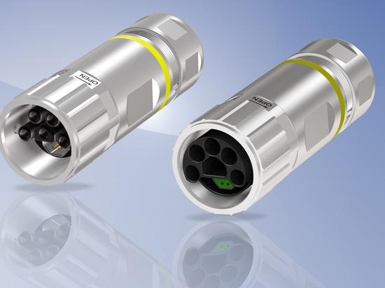 CONEC B23 Hybrid Connectors field attachable -