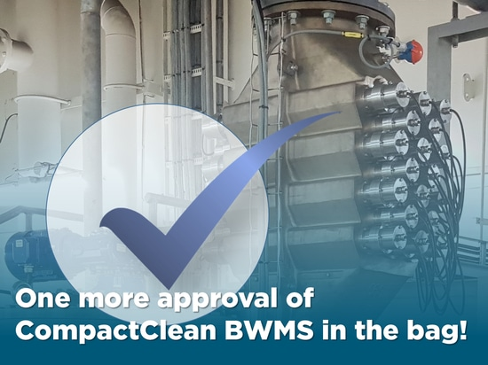 One more approval of CompactClean BWMS in the bag!