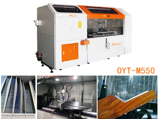 OYT-M550  tenon & notching saw (for curtain wall)