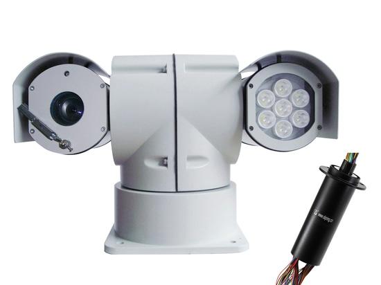 JINPAT Slip Ring for Vehicle-mounted Camera Pan & Tilt