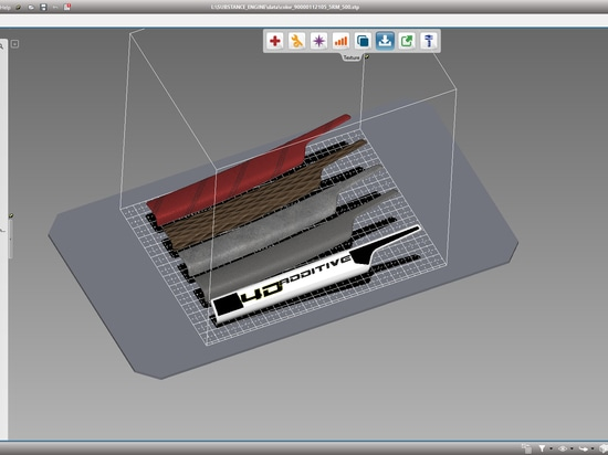 Preparation of CAD data for 3D printing  With 4D_Additive, CAD data of all major 3D formats can be processed for 3D printing within the shortest space and with the optimum printing results.