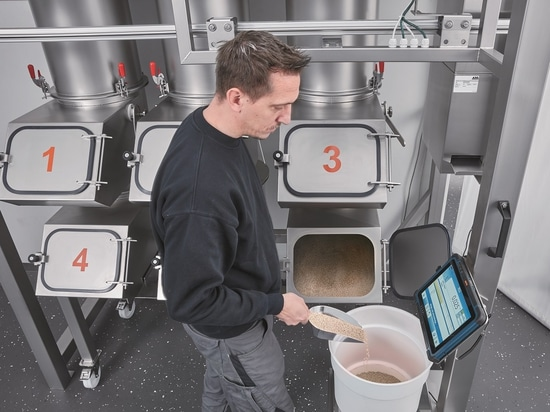 ManDos – operator-guided manual weighing system for micro quantities