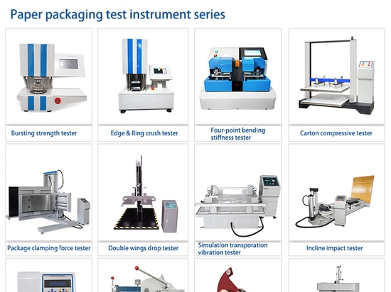 Paper packaging test instrument series