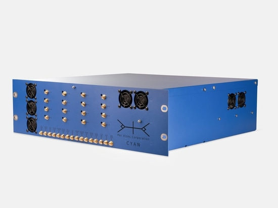 The Cyan SDR offers performance at frequencies as high as 18 GHz.