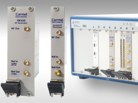 Frequency Synthesizers Generate 250 MHz to 32 GHz