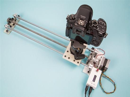 Motion Control Camera Slider