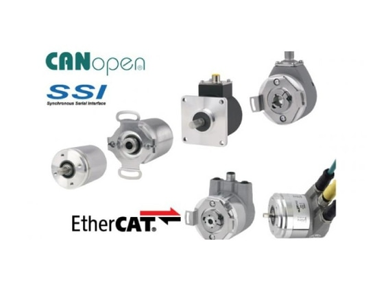 Absolute Encoders with Upgraded Electronics
