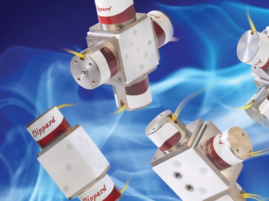 Gradient Valves Have Less Internal Volume and Better Mixing