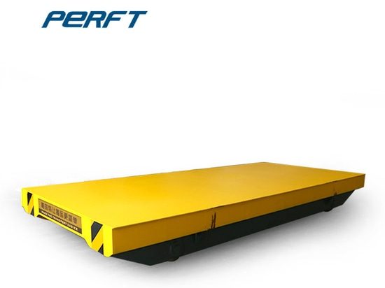 Henan Perfte Non-powered Factory Flatbed Towed Trolley