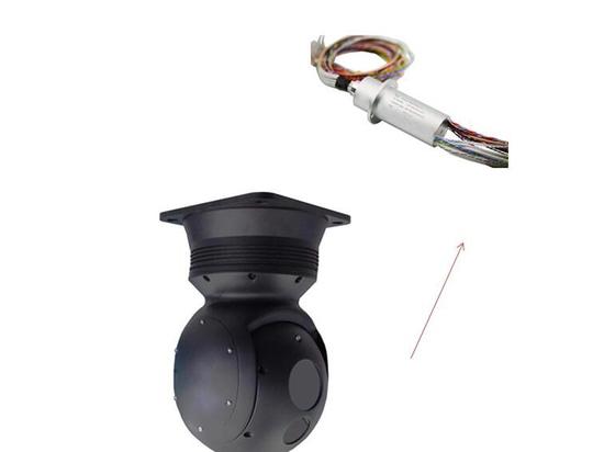 JINPAT 88-circuit capsule slip ring for photoelectric equipment