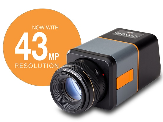 Radiant Introduces New ProMetric® Y43 Imaging Photometer with 43-Megapixel CCD