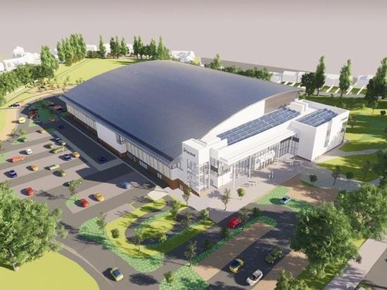The Sandwell Aquatics Centre