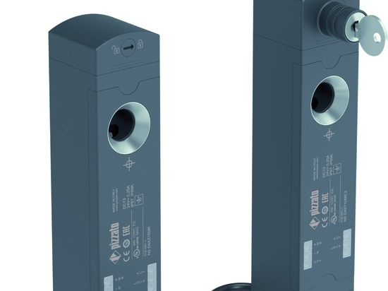 New versions for NS series safety switches with solenoid and RFID technology