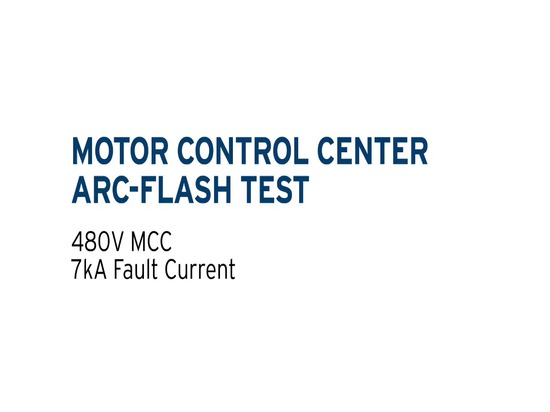 MotorMAX® Arc-Flash Protection