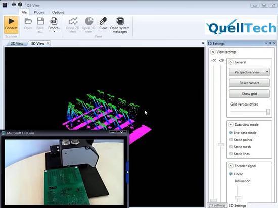 Pins Alignment Check with Q4 / Kontaktstifte Ausrichtung prüfen mit Q4