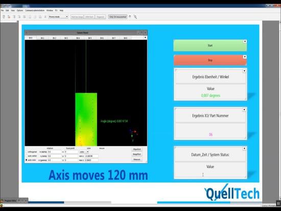 Planarity Measurement for Metal Plates