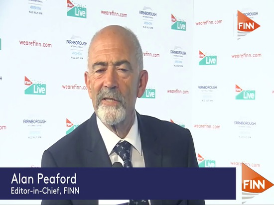 Interview with Brian Mercer at Farnborough Airshow 2018